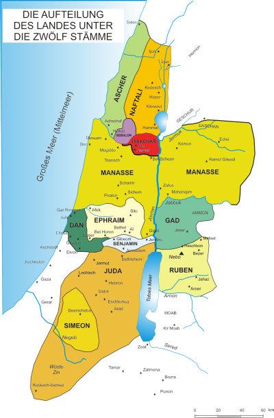 Zwölf Stämme Israels