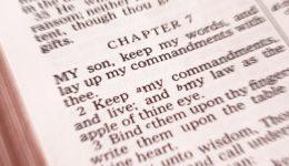 Torah und die Gebote