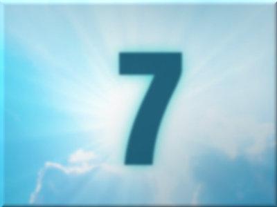 die zahl 7 in der bibel