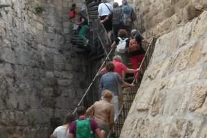Maueraufstieg