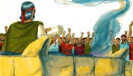 """#46 Nitzavim/Vayelech - """"Ihr steht/Und er ging"""""""