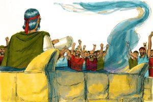 """#46 Nitzavim/Vayelech – """"Ihr steht/Und er ging"""""""