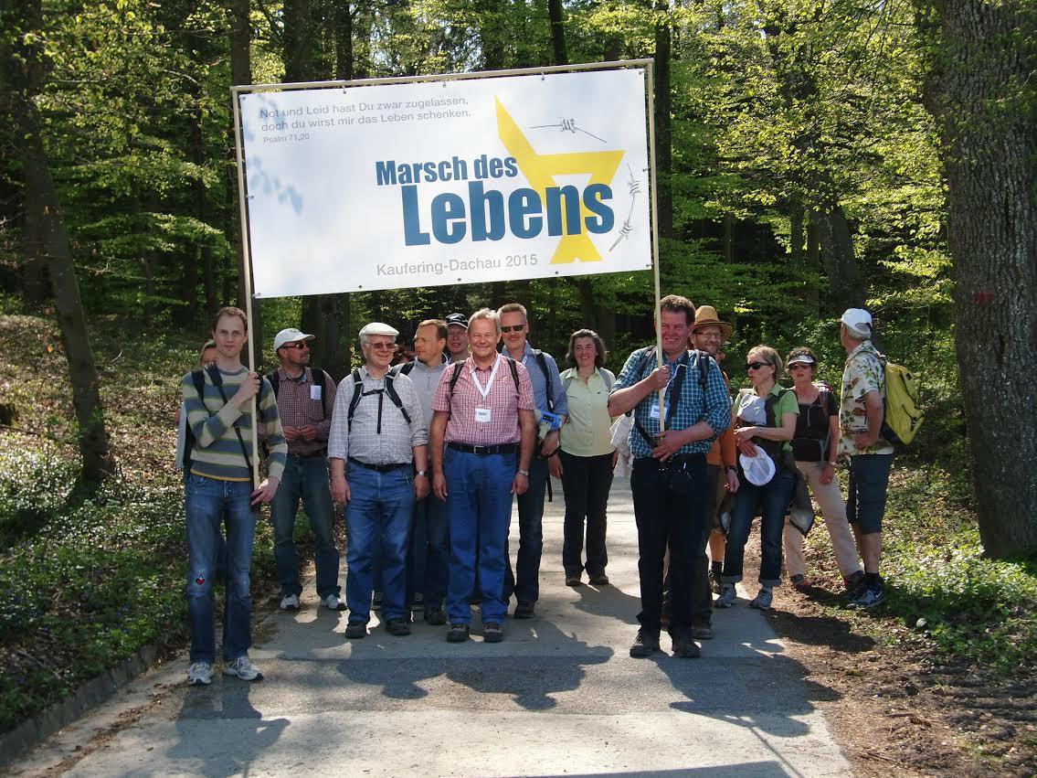 Marsch des Lebens Kaufering – Dachau vom 24. bis 26.04.2015