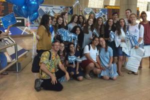ABOS begrüßt 300 russische Einwanderer nach Israel