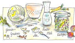 1. Fermentation als Haltbarmachung – Kurze Erntezeit/lange Winter