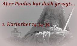 Paulus-1-korinther-14-34-35