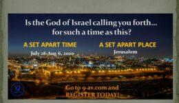 Virtuelle Tour nach Israel und Jerusalem – Nations' 9th of Av